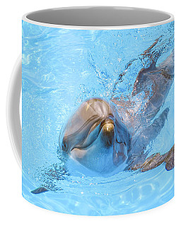 Dolphin Swimming Coffee Mug