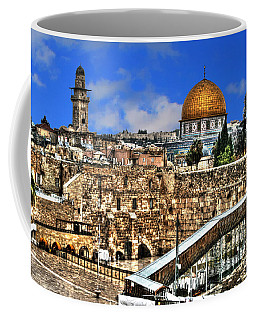 Coffee Mug featuring the photograph Dome Of The Rock by Doc Braham