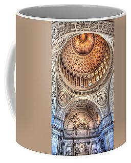 Domed Ornate Interior Coffee Mug