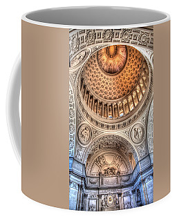 Coffee Mug featuring the photograph Domed Ornate Interior by Susan Leonard