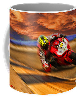 Domenic Caluori At Speed Coffee Mug