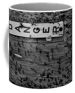 Domestic Abuse Coffee Mug by Amar Sheow