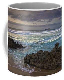 Coffee Mug featuring the photograph Doninos Beach Ferrol Galicia Spain by Pablo Avanzini