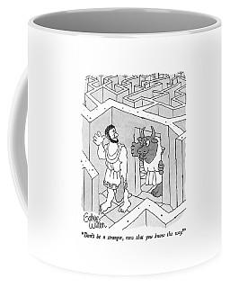 Don't Be A Stranger Coffee Mug
