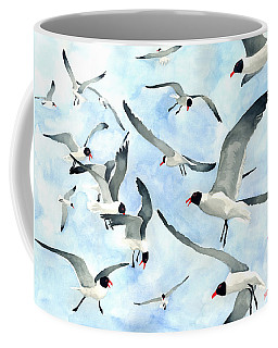 Don't Feed The Seagulls Coffee Mug