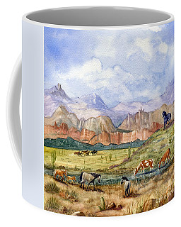 Don't Fence Me In Part Three Coffee Mug