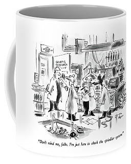 Don't Mind Coffee Mug