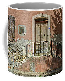 Door And Shadow Coffee Mug