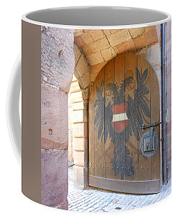 Door At Nuremberg Coffee Mug by Kay Gilley