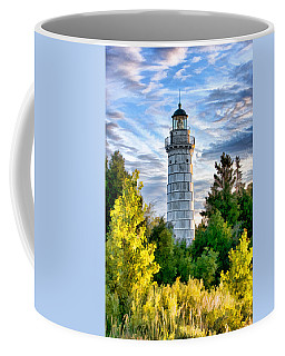 Door County Cana Island Beacon Coffee Mug