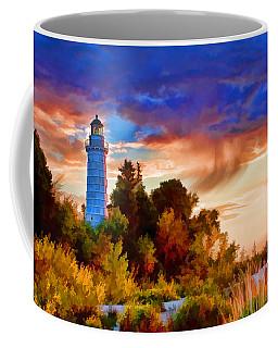 Door County Cana Island Wisp Coffee Mug