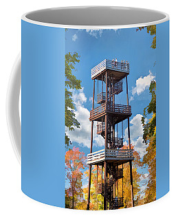 Door County Eagle Tower Peninsula State Park Coffee Mug