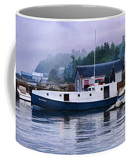 Door County Gills Rock Fishing Village Coffee Mug