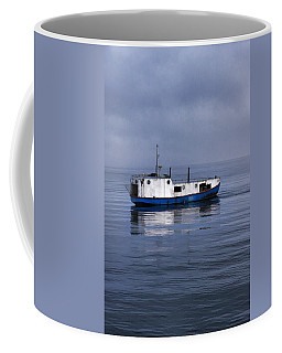 Door County Gills Rock Trawler Coffee Mug