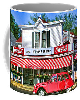 Door County Wilson's Restaurant And Ice Cream Parlor Coffee Mug