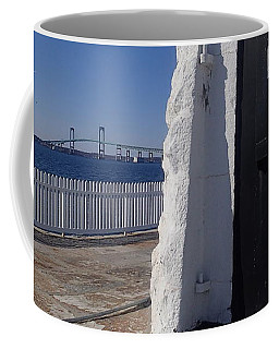 Door N Bridge Coffee Mug by Robert Nickologianis