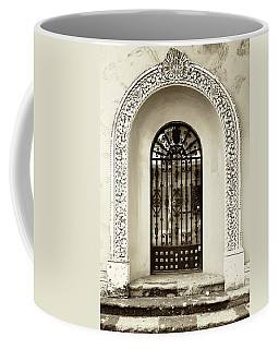 Door With Decorated Arch Coffee Mug
