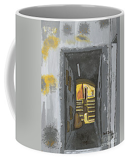 Doorway In Cinque Terra Coffee Mug