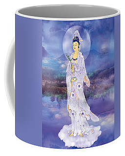 Coffee Mug featuring the photograph Doro Guanyin by Lanjee Chee