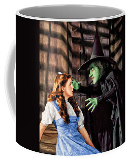 Dorothy And The Wicked Witch Coffee Mug
