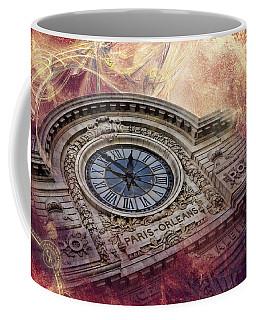 D'orsay Clock Paris Coffee Mug