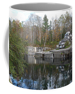 Coffee Mug featuring the photograph Dorset Quarry by John Schneider