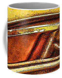 Double Arc Abstract Coffee Mug