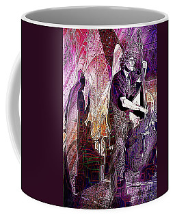 Double Bass Silhouette  Coffee Mug