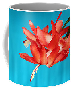 Double Bloom In Red Coffee Mug