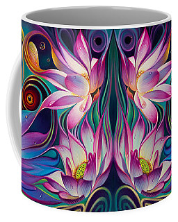 Double Floral Fantasy 2 Coffee Mug