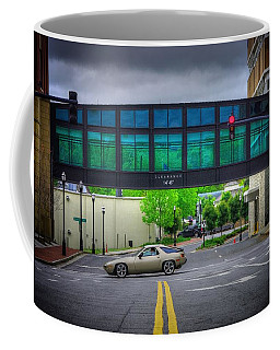 Coffee Mug featuring the photograph Double Line by Dennis Baswell