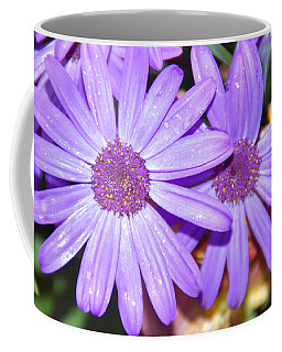 Double Purple Coffee Mug