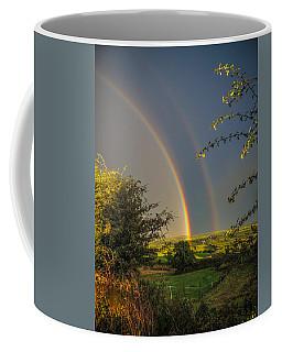 Double Rainbow Over County Clare Coffee Mug