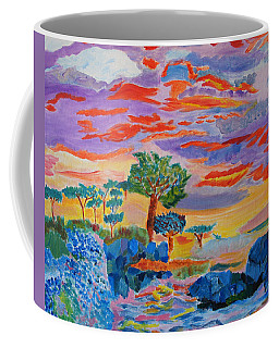 Candy Coated Monterey Sunset Coffee Mug by Meryl Goudey