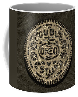 Double Stuff Oreo In Sepia Negitive Coffee Mug by Rob Hans