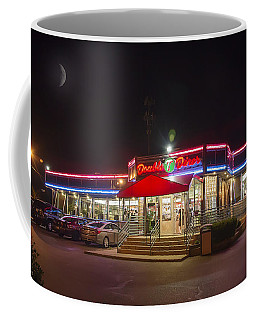 Double T Diner At Night Coffee Mug