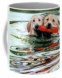 Doublemint Coffee Mug by Molly Poole