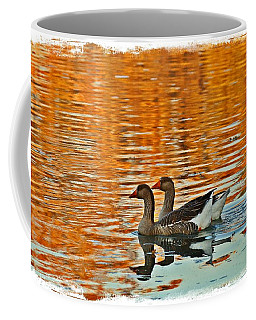 Coffee Mug featuring the photograph Doubles by Lynn Hopwood