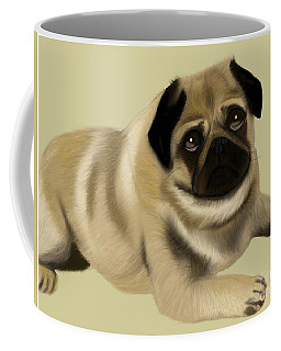 Doug The Pug Coffee Mug