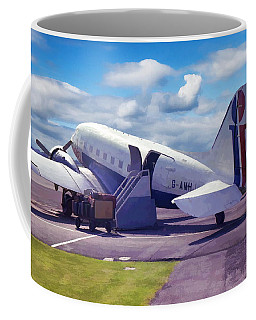 Coffee Mug featuring the photograph Douglas Dakota Dc3 by Paul Gulliver