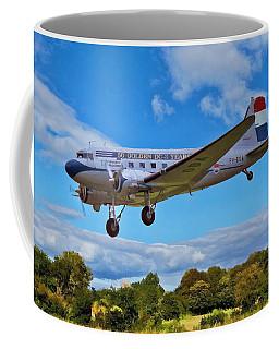Coffee Mug featuring the digital art Douglas Dc3 by Paul Gulliver