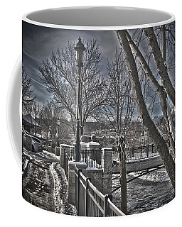 Coffee Mug featuring the photograph Down By The River by Deborah Klubertanz