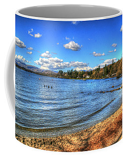 Coffee Mug featuring the photograph Down By The Riverside by Doc Braham