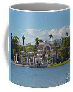 Down By The Station Coffee Mug by Carol  Bradley