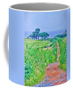 Down To The Sea Herm Island Coffee Mug