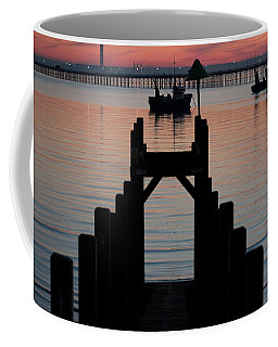 Down To The Sunset Sea Coffee Mug