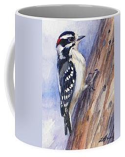 Downey Woodpecker Coffee Mug