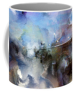 Downtown Bridge Over The Grand Grand Rapids Michigan Coffee Mug