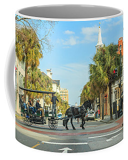 Downtown Charleston Stroll Coffee Mug