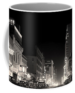 Downtown Dallas 1942 Coffee Mug